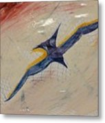 Gliding Metal Print by Gregory Dallum