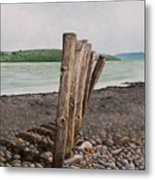 Glin Beach Breakers Metal Print