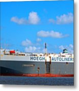 Global Carrier Metal Print