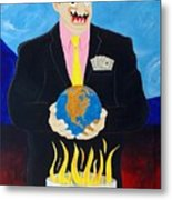Global Warming Truth Metal Print
