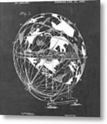 Globe For Astrologers Metal Print