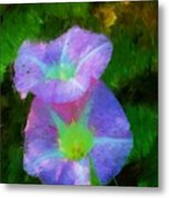Gloria In The Shade Metal Print