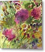 Glorious Flowers Metal Print