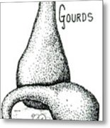 Glorious Gourds Metal Print