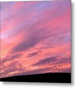 Glorious Nightfall  Metal Print
