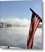 Glorious Winter Day Metal Print
