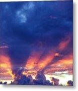 Glory Cloud Metal Print
