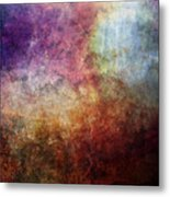 Glory Oil Abstract Painting Metal Print