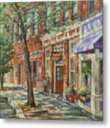 Gloucester Around Town Metal Print by Sharon Jordan Bahosh