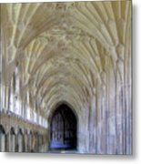 Gloucester Cathedral Cloisters Metal Print