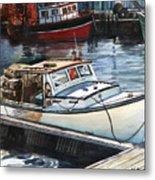 Gloucester Harbor Metal Print