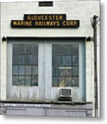 Gloucester Marine Railways Massachusetts Metal Print
