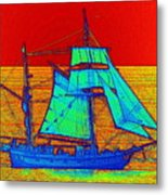 Glow Ship 3 Photograph Metal Print
