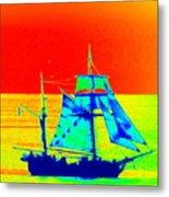 Glow Ship 7 Photograph Metal Print