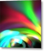 Glowing Arches Metal Print
