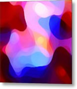 Glowing Light Metal Print