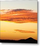 Glowing Sunset One Metal Print
