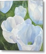 Glowing Tulips Metal Print by Bobbi Price