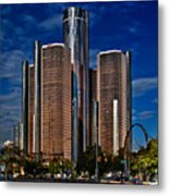 Gm And Marriot Monster In Detroit Metal Print