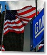 Gm Flags Metal Print