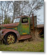 Gmc Green Metal Print
