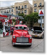 Gmc Pickup Metal Print