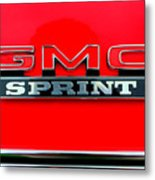 Gmc Sprint 001 Metal Print
