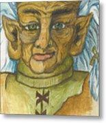 Gnarlsworth Gnome Metal Print