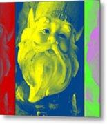 Gnomes In Crazy Color Metal Print