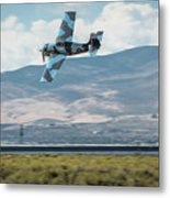 Go Fast Turn Left Fly Low Friday Morning Unlimited Bronze Class Metal Print