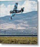Go Fast Turn Left Fly Low Friday Morning Unlimited Broze Class Signature Edition Metal Print