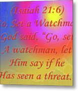 Go Set A Watchman Metal Print