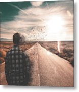 Go To The Sun Metal Print