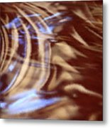 Go With The Flow - Abstract Art Metal Print