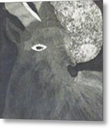 Goat And Nux Metal Print