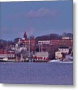 Goat Hill At Sunset In Winter Metal Print