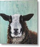 Goat Tee Metal Print