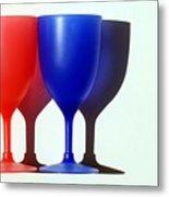 Goblets Metal Print