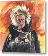 Goblin King At His Best Metal Print