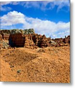 Goblin Valley Pano 3 Metal Print
