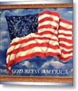God Bless America Metal Print