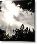 God Is With Us Metal Print