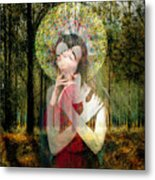 God Of Love, Beautiful Santhia Metal Print