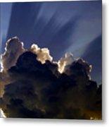 God Speaking Metal Print by David Lee Thompson
