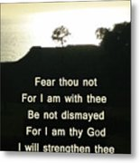 God Will Help You Metal Print