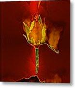 Goddes Of Fire Metal Print