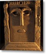 Goddess Hayyan Idol From The Temple Metal Print