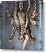 Goddess Khali In Singapore Metal Print