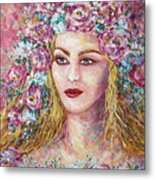 Goddess Of Good Fortune Metal Print