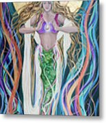 Goddess Of Intention Metal Print
